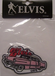 ELVIS PINK CADDY PATCH