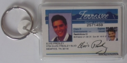 DRIVERS LICENSE KEYRING