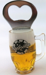 NASHVILLE BEER BOTTLE OPENER MAGNET