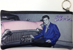 ELVIS AND CADDY LARGE COIN PURSE