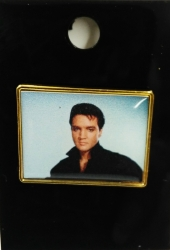 ELVIS BLACK SHIRT LAPEL PIN