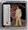 GOLD LAME THERMOMETER MAGNET