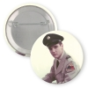 ELVIS ARMY BUTTON