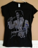 ELVIS ALOHA RHINESTONE LADIES SHIRT