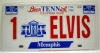 #1 ELVIS CAR TAG