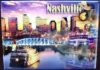 NASHVILLE COLLAGE METAL MAGNET